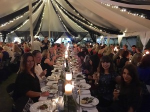 authors at Literary Dinner