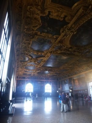 A tiny part of the magnificence of the Doges' Palace.