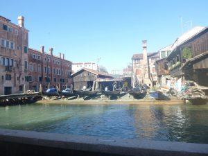 Gondola workshop.