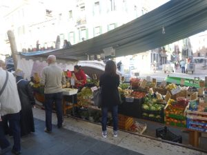 Our local fruit and veggie sellers, St Barnaba.